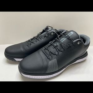 NEW Under Armour UA Fade RST 3 Men's Golf Shoes Black 3023330-001 Size 10